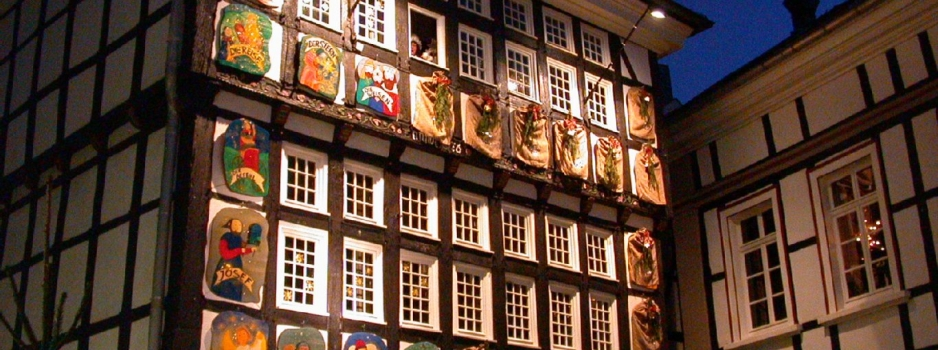 LA CASA D'ADVENT DE HATTINGEN
